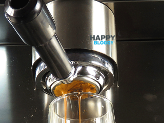 Image displaying chesnut brown espresso twin pour
